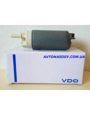 20) Топливный насос, бензонасос, оригинал VDO (сам насосик + сетка). Бензиновый двигатель. BMW 1 E81, E82, 3 E90i, X1 E84i.