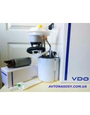 37) Топливный насос (вставка оригинал), Насос в сборе, отдельно топливный фильтр. Бензиновый двигатель. VW Volkswagen Passat 3AA919051L, 3AA919051C